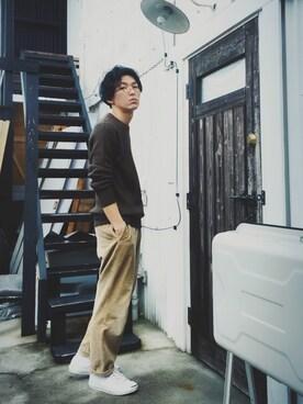かずくんさんの(URBAN RESEARCH DOORS MENS|アーバンリサーチ ドアーズ メンズ)を使ったコーディネート