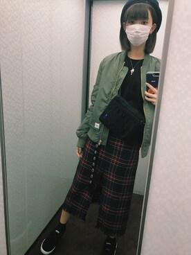 江野沢愛美 さんの(STUSSY|ステューシー)を使ったコーディネート