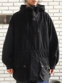 「Swedish Military Anorak Parka(VINTAGE)」 using this eat_came looks