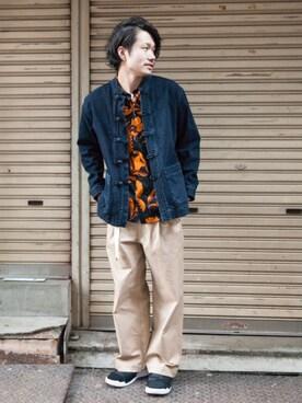 AMERICANRAGCIE(アメリカンラグシー)京都BAL店|Tomonori uedaさんの(AMERICAN RAG CIE|アメリカンラグ シー)を使ったコーディネート