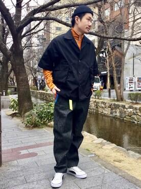 AMERICANRAGCIE(アメリカンラグシー)京都BAL店 Tomonori uedaさんの(Hombre Nino オンブレ・ニーニョ)を使ったコーディネート