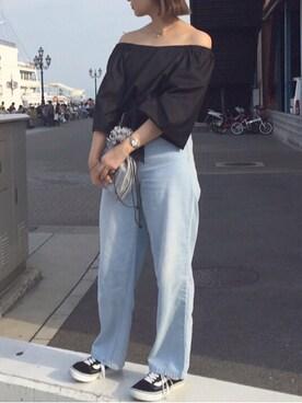 Tomomi Nosoさんの(KBF|ケイビーエフ)を使ったコーディネート