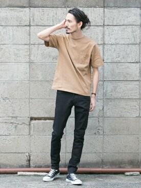 アーバンリサーチ 金沢百番街Rinto店|otsukiさんのTシャツ/カットソー「UR ONE STAR T-SHIRTS(URBAN RESEARCH|アーバンリサーチ)」を使ったコーディネート