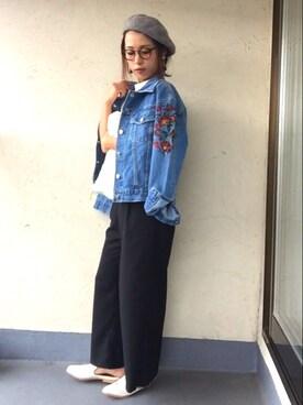 emiko☆さんの(GU|ジーユー)を使ったコーディネート