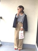 emiko☆さんの(無印良品|ジーユー)を使ったコーディネート
