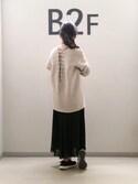 sayuri maedaさんの「【2017SS先行予約】バックレースアッププルオーバー(ADAM ET ROPE'|アダム エ ロペ)」を使ったコーディネート