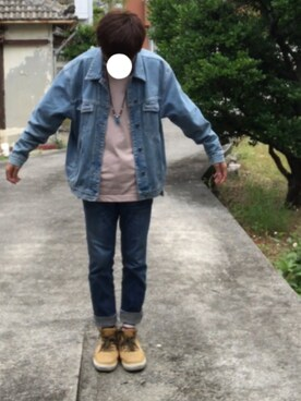 Tomosuuuさんの(WEGO|ウィゴー)を使ったコーディネート