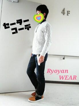 Ryoyanさんの(GU|ジーユー)を使ったコーディネート
