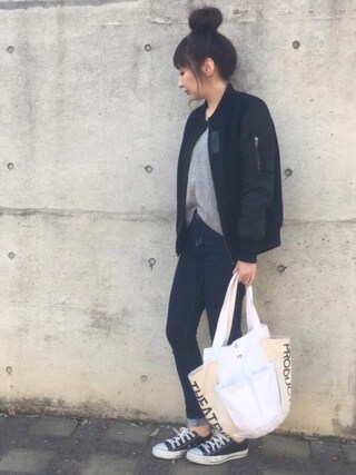 maiko さんの「ガーデンバッグ(THEATRE PRODUCTS|シアタープロダクツ)」を使ったコーディネート