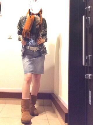 リツさんの「【UGG Australia / アグ オーストラリア】 Classic Short#(JOURNAL STANDARD relume|ジャーナルスタンダード レリューム)」を使ったコーディネート