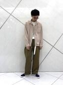 リョータさんの「オープンカラーシャツ(URBAN RESEARCH|アーバンリサーチ)」を使ったコーディネート