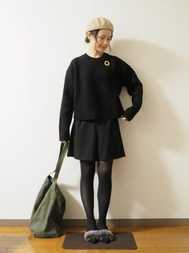 panaさんの(couture brooch|クチュールブローチ)を使ったコーディネート