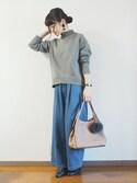 panaさんの「ファーチャーム【PLAIN CLOTHING】(PLAIN CLOTHING|プレーンクロージング)」を使ったコーディネート