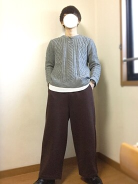 にのまるさんの(tk.TAKEO KIKUCHI|ティーケータケオキクチ)を使ったコーディネート