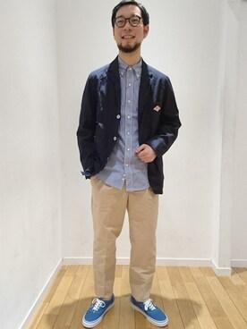 Bshop 名古屋店|hayashiさんの「テーラードジャケット MEN(Danton)」を使ったコーディネート