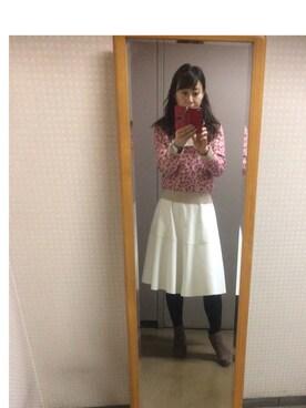 setsu さんの(靴下屋|クツシタヤ)を使ったコーディネート