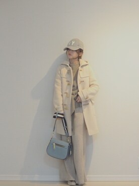 「Marc Jacobs Gotham Small Nomad Saddle Bag(Marc Jacobs)」 using this 田中亜希子 looks