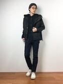 Yudai Ishiiさんの「裏ボア マウンテンパーカー ナイロン ジャケット アウター(8(eight)|エイト)」を使ったコーディネート