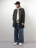 Yudai Ishiiさんの「ピグメントタイプライターコート #(JOURNAL STANDARD ジャーナルスタンダード)」を使ったコーディネート