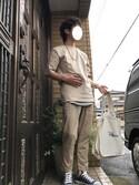 鈴吉さんの「converse(コンバース) ALL STAR OX(オールスターOX)(CONVERSE|コンバース)」を使ったコーディネート