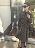 「Prada Round-frame acetate sunglasses(Prada)」 using this Chrysteena looks