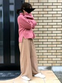 ぱにさんの「SUPERGA(スペルガ) / 2750-COBINU(ファー付キャンバススニーカー)(SUPERGA|スペルガ)」を使ったコーディネート