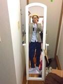 "Okawa is wearing BRIXTON ""BRIXTON FEDORA HAT CASTOR BONE"""