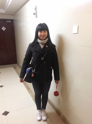 Jane-chanさんの「WEGO/adidasNEO VALCLEANスニーカー(adidas|アディダス)」を使ったコーディネート