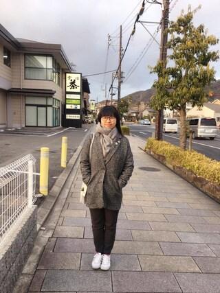 Jane-chanさんの「【Slim Airframe】スリムエアフレーム(JINS ジンズ)」を使ったコーディネート