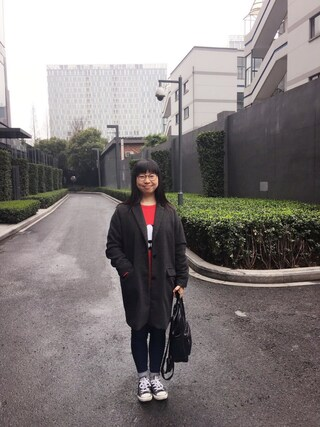 Jane-chanさんの「【JINS CLASSIC -Metal-】メタル(JINS ジンズ)」を使ったコーディネート