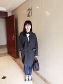 Jane-chanさんの「【WEB限定】iTouch Gloves/アイタッチグローブ × Harris Tweed/ハリスツイード H012(HARRIS TWEED|ハリスツイード)」を使ったコーディネート