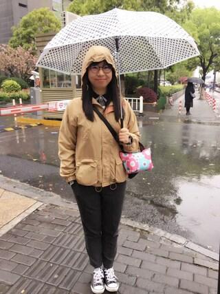 Jane-chanさんの「MEN ヘビーフランネルシャツ(長袖)(ユニクロ|ユニクロ)」を使ったコーディネート