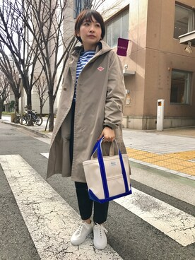 Bshop 神戸本店|TANABEさんの「フードコート WOMEN(Danton)」を使ったコーディネート