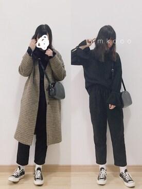 mmk♡さんの「キモウワイドリブラッフルプルオーバー/742218(JEANASIS|ジーナシス)」を使ったコーディネート