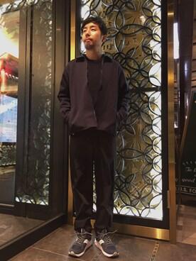 ビューティ&ユース ユナイテッドアローズ 神戸三宮店|Kiyotaka Nakagawaさんの「<Steven Alan> HAMILTON/W AZE CREW/ニット(Steven Alan)」を使ったコーディネート
