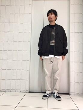 BEAUTY&YOUTH UNITED ARROWS|Kiyotaka Nakagawaさんの(C.E|シーイー)を使ったコーディネート