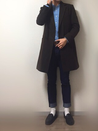 「【GIGGER】Wチェスターコート(WHO'S WHO gallery)」 using this Masa looks