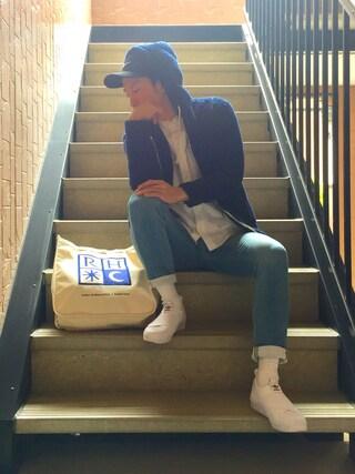 「【NIKE】SWOOSH PRO BLUE CAP(スウッシュプロブルー)(NIKE)」 using this Masa looks