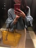 Ayanoさんの「プレーンワイドパンツ(MURUA|ムルーア)」を使ったコーディネート