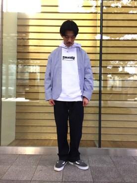 ビューティ&ユース ユナイテッドアローズ 金沢店|Shouya Kitayamaさんの(PHINGERIN|フィンガリン)を使ったコーディネート