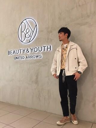BEAUTY&YOUTH UNITED ARROWS|Shouya Kitayamaさんの(BEAUTY&YOUTH UNITED ARROWS|ビューティアンドユースユナイテッドアローズ)を使ったコーディネート
