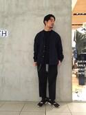 Shouya Kitayamaさんの「BY キヘイチェーン キーリング(BEAUTY&YOUTH UNITED ARROWS|ビューティアンドユースユナイテッドアローズ)」を使ったコーディネート
