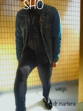 Shoさんの(WEGO|ウィゴー)を使ったコーディネート
