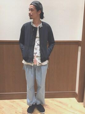 Genki Nakamuraさんの(ACRONYM|アクロニウム)を使ったコーディネート