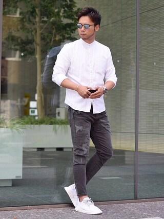 Shintaroさんの「【adidas】NMD_R1(adidas originals アディダスオリジナルス)」を使ったコーディネート