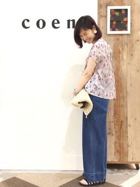 coen鹿児島店|coen あらーきさんの(coen|コーエン)を使ったコーディネート