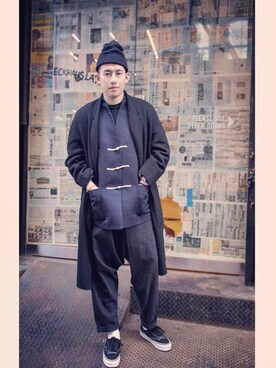 (UNIQLO) using this Andre-Chow looks