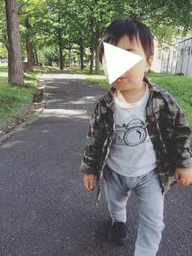 misa_r.aさんの(西松屋 ニシマツヤ)を使ったコーディネート