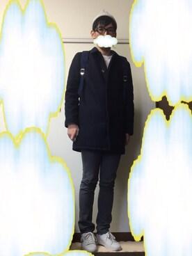 雲にぃさんの(THE NORTH FACE PURPLE LABEL|ザ ノースフェイス パープルレーベル)を使ったコーディネート