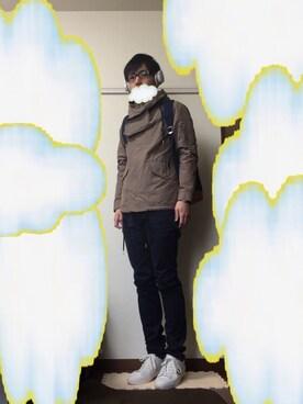 雲にぃさんの(LOUNGE LIZARD|ラウンジリザード)を使ったコーディネート